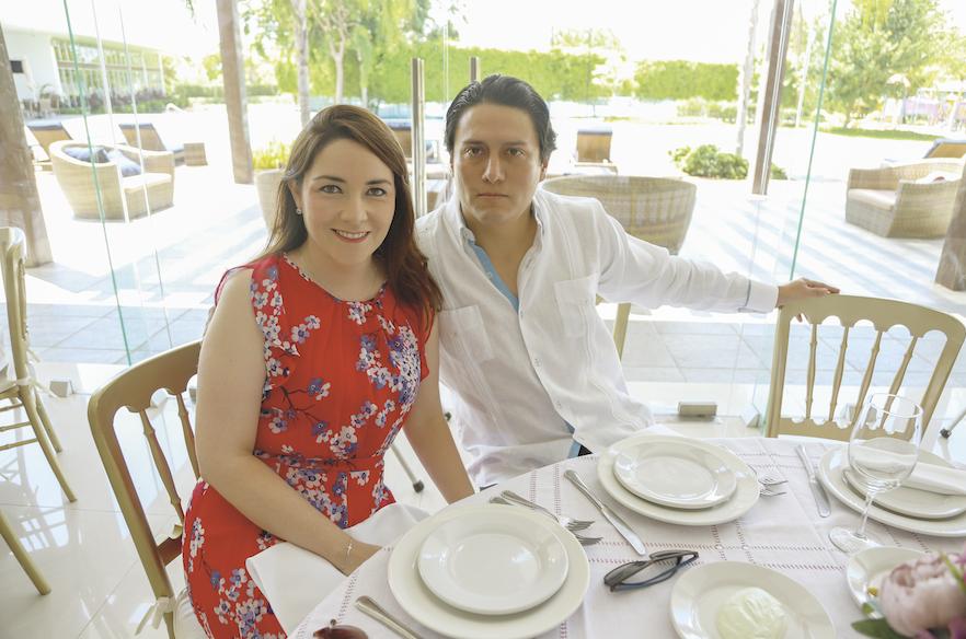 Mariana Buenfil y Clemente Castrejón