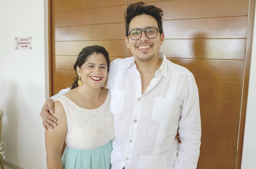 Malena Molina y Carlos Castro
