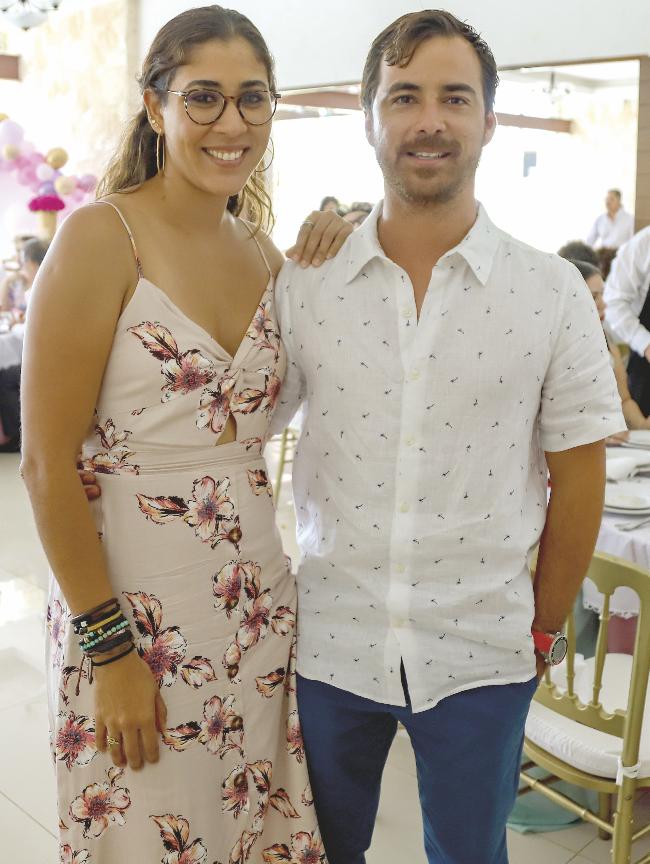 Mariana Mares y Michael Dutton