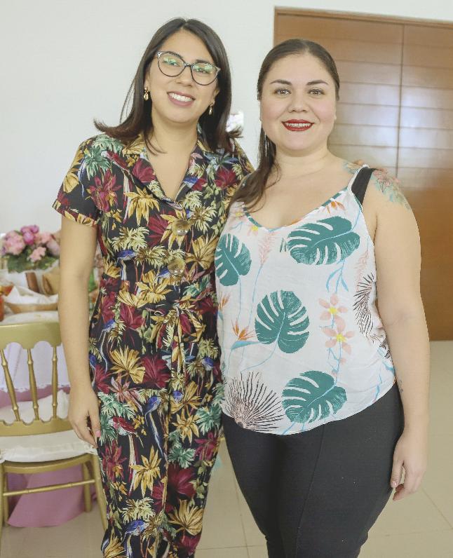 Yazmín Quiñones y Alejandra Irigoyen
