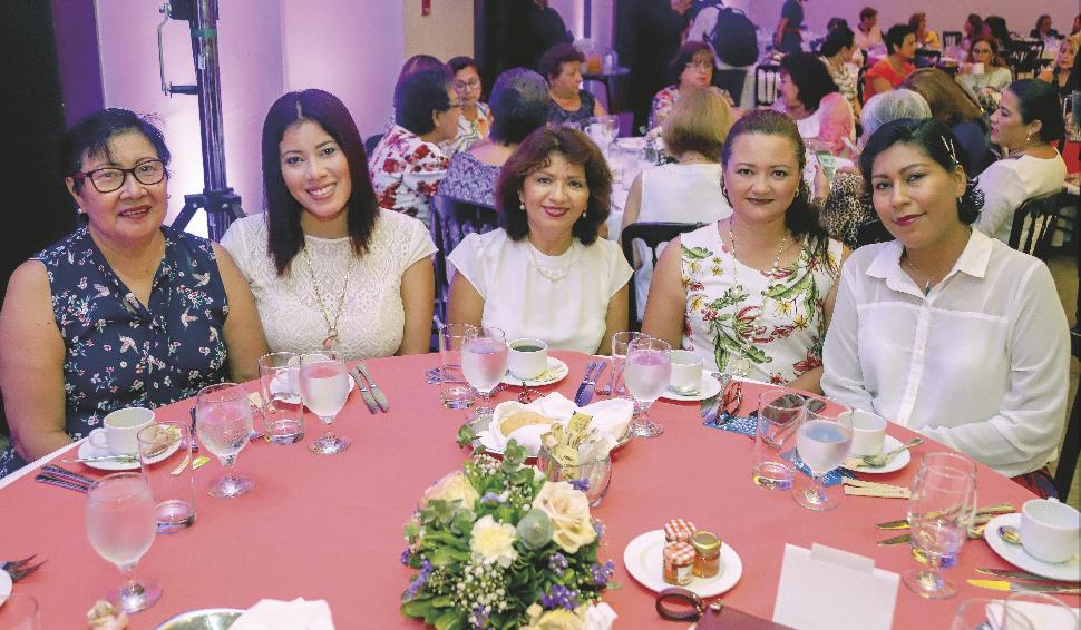 Higia Chan, Higia Río, Leticia Borges, Mariam Cameno y Paola Hernández